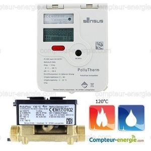 Compteur Energie Thermique POLLUTHERM Chaud/Froid