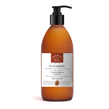 La Carapate - Certified Cosmos Natural Vegetable Oil