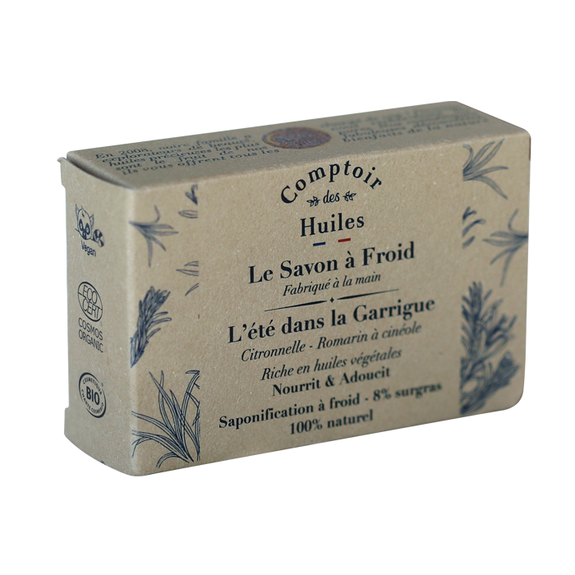 Cold process soap – Summer in the Garrigue