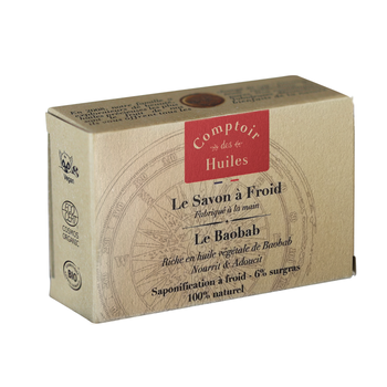 Le Baobab - Cold-processed Organic Soap