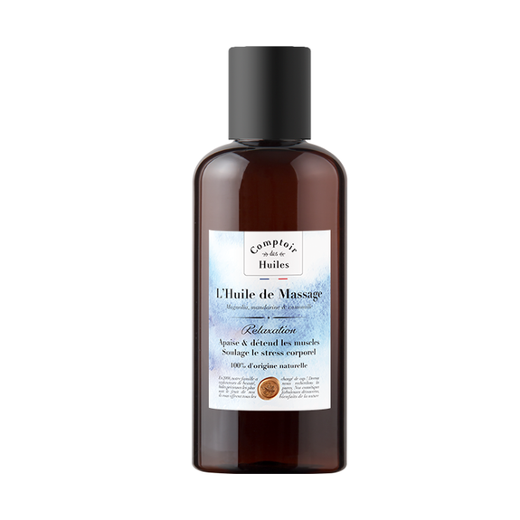 Massage Oil - Relaxation - Certified Cosmos Organic Vegetable Oil