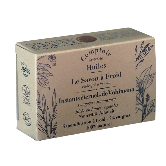 Cold process soap – Eternal moments of Vohimana