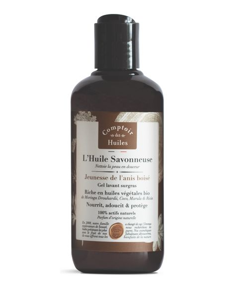 Huile Savonneuse - Shower oil - Youth of woody anise
