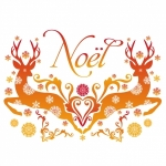 sticker noel NO008