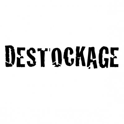 sticker destockage DE002