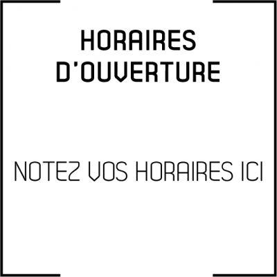 sticker horaires Ho001