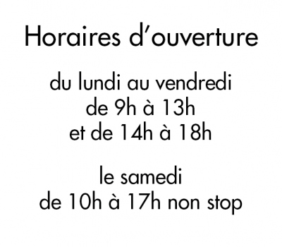 sticker horaires Ho005