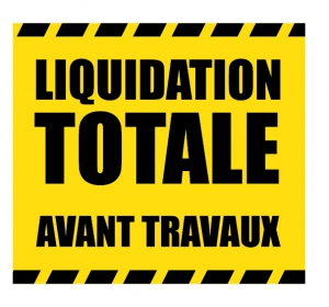 sticker liquidation DE007