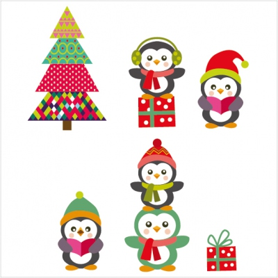sticker noel NO038