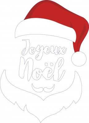 sticker noel NO065