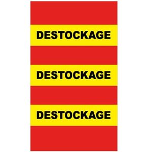 sticker destockage DE020
