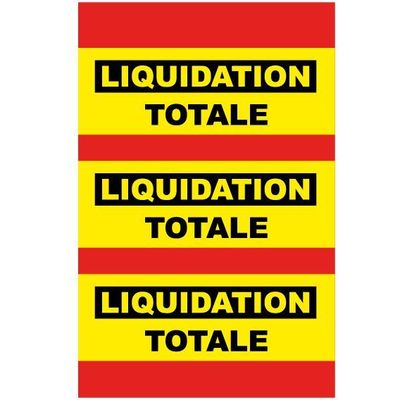 sticker liquidation DE021