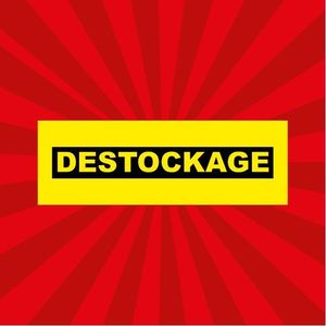 sticker destockage DE022