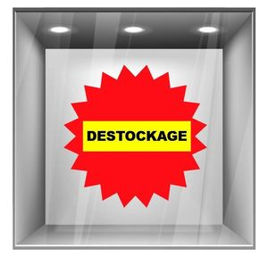 sticker destockage DE016