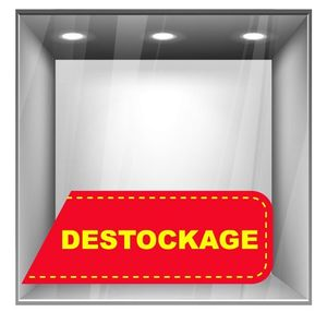 sticker destockage DE018