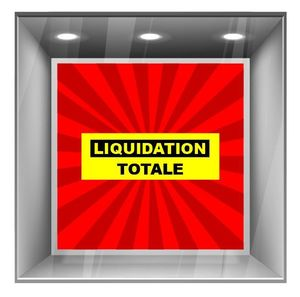 sticker liquidation DE023