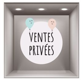 sticker ventes privées VP004