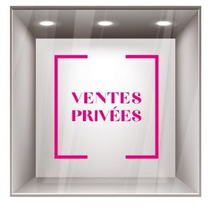sticker ventes privées VP005