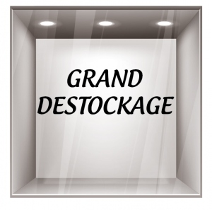 sticker destockage DE004