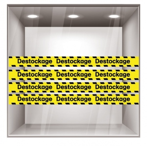 sticker destockage DE005