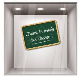 sticker rentrée des classes RDC005