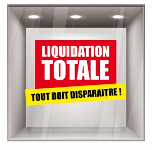 sticker liquidation DE006