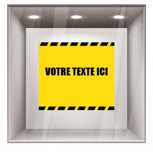 sticker liquidation personnalisable DE008
