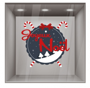 sticker noel NO059