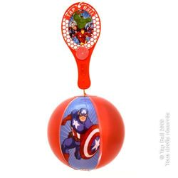 Lot de 12 Tap-Ball AVENGERS de 22 cm de diamètre aux couleurs assorties