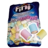 Marshmallow Finitronc Cible roulée multicolore en sac de 1 kg