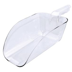 Pelle 960 ml en polycarbonate translucide agréée contact alimentaire