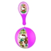 Lot de 12 Tap-Ball HELLO KITTY de 22 cm de diamètre aux couleurs assorties