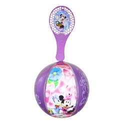 Lot de 12 Tap-Ball MINNIE de 22 cm de diamètre aux couleurs assorties