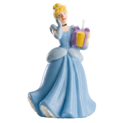Bougie décorative Princesse Cendrillon