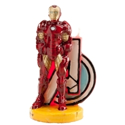 Bougie décorative Iron Man