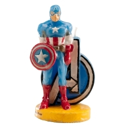 Bougie décorative Captain America