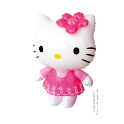 Lot de 12 gonflables HELLO KITTY