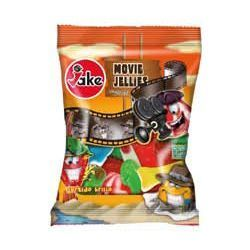 Jake Carton de 12 sachets de MOVIE JELLIES 100 g