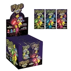 Fluo Popping candy x 36