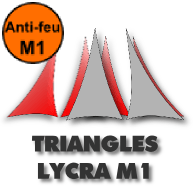 Triangles Lycra M1