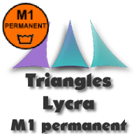 Triangles Lycra M1 permanent