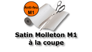 "Satin Molleton ""Blackout"" M1 320gr 300cm"