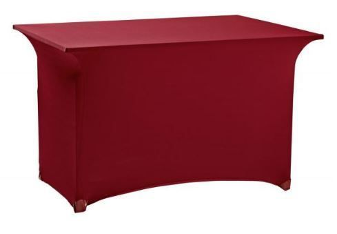 Housse de table Bordeaux Lycra extensible