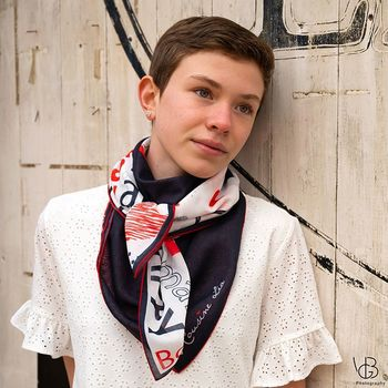 "Foulard mini ""Seattle"""