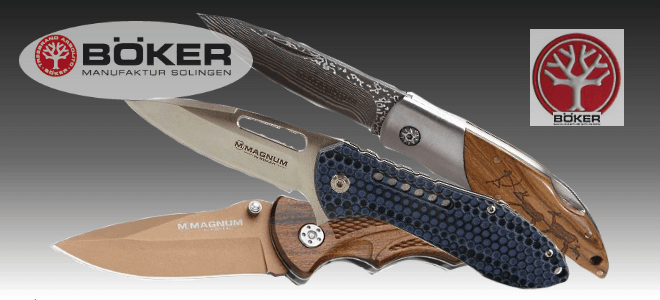 Boker folding knives, outdoor knives