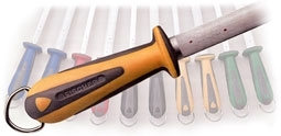 Fischer Bargoin Sharpening steels, kitchen and butchers knives, decoration material