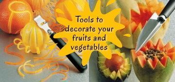 Fruits and Vegetablesdecoration utensils