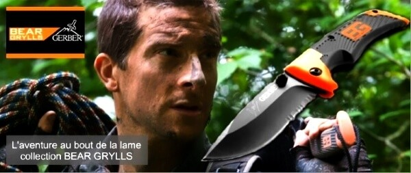 Messe und survival kits GERBER Bear Grylls