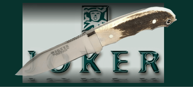 Hunting knives, fix blades Joker