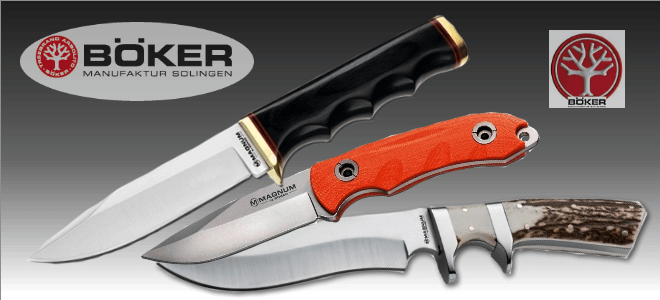 Boker outdoor knives, fixed blade